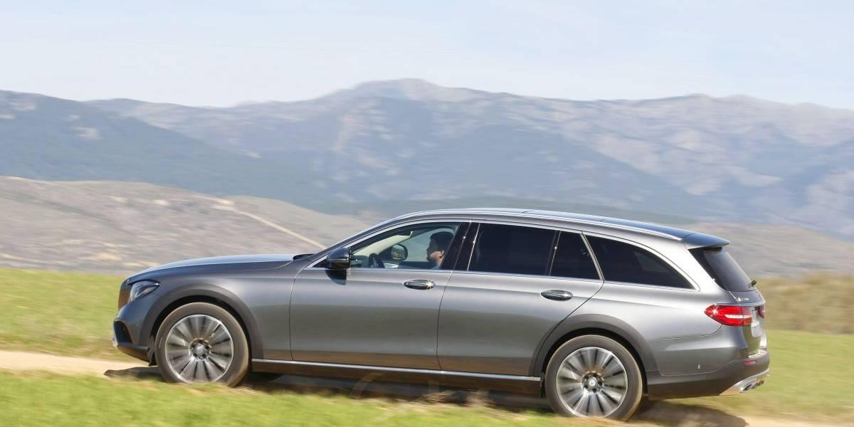Mercedes-Benz E 220D All-Terrain, a prueba: tierra a la vista