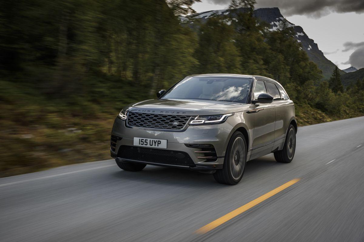 Range Rover Velar 2017 tres cuartos delantero