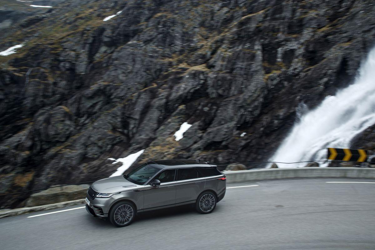 Range Rover Velar 2017 cenital