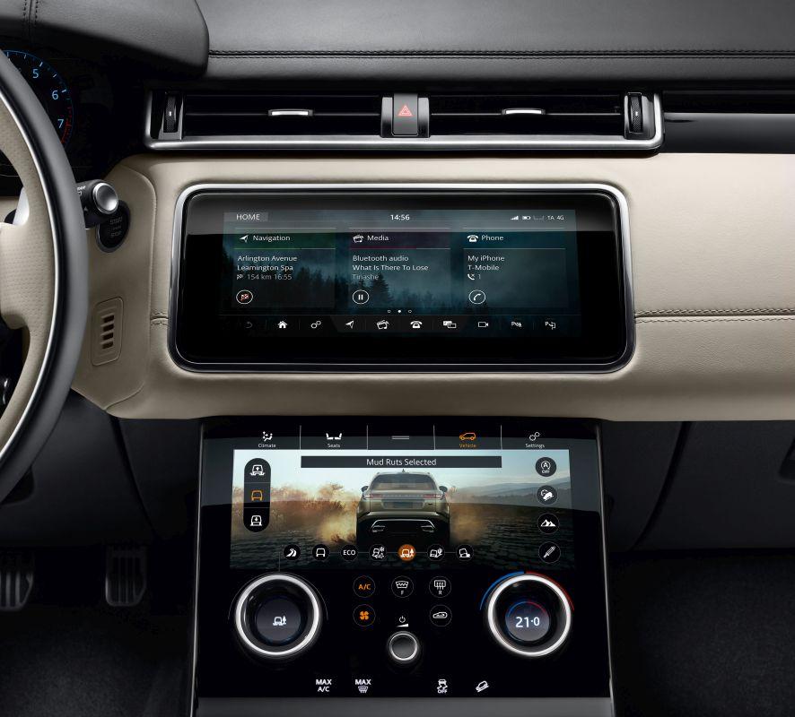Range Rover Velar 2017 detalle interior