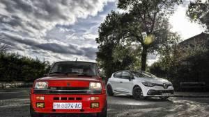 Renault 5 Copa Turbo contra Renault Clio RS (fotos)
