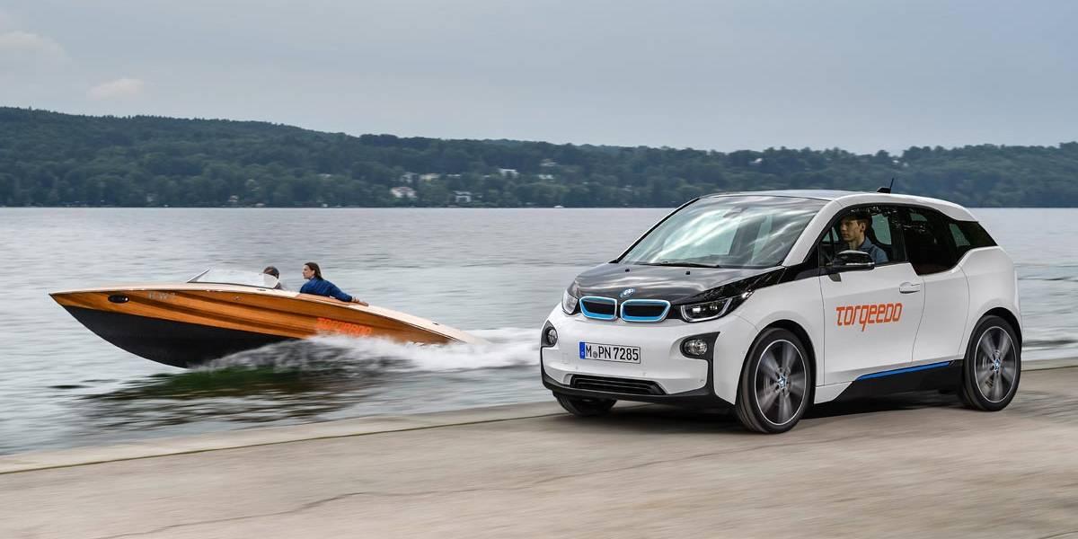 BMW i se pasa a las embarcaciones eléctricas para el agua