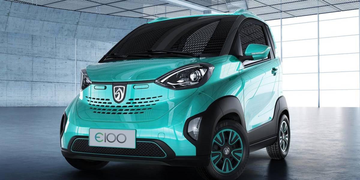 Baojun E100: el eléctrico chino de GM similar al Smart