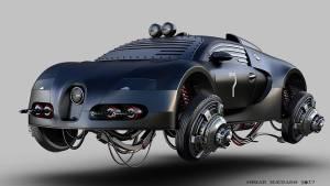 Aerodeslizadores: ¿así serían los coches en un futuro posapocalíptico? (fotos)