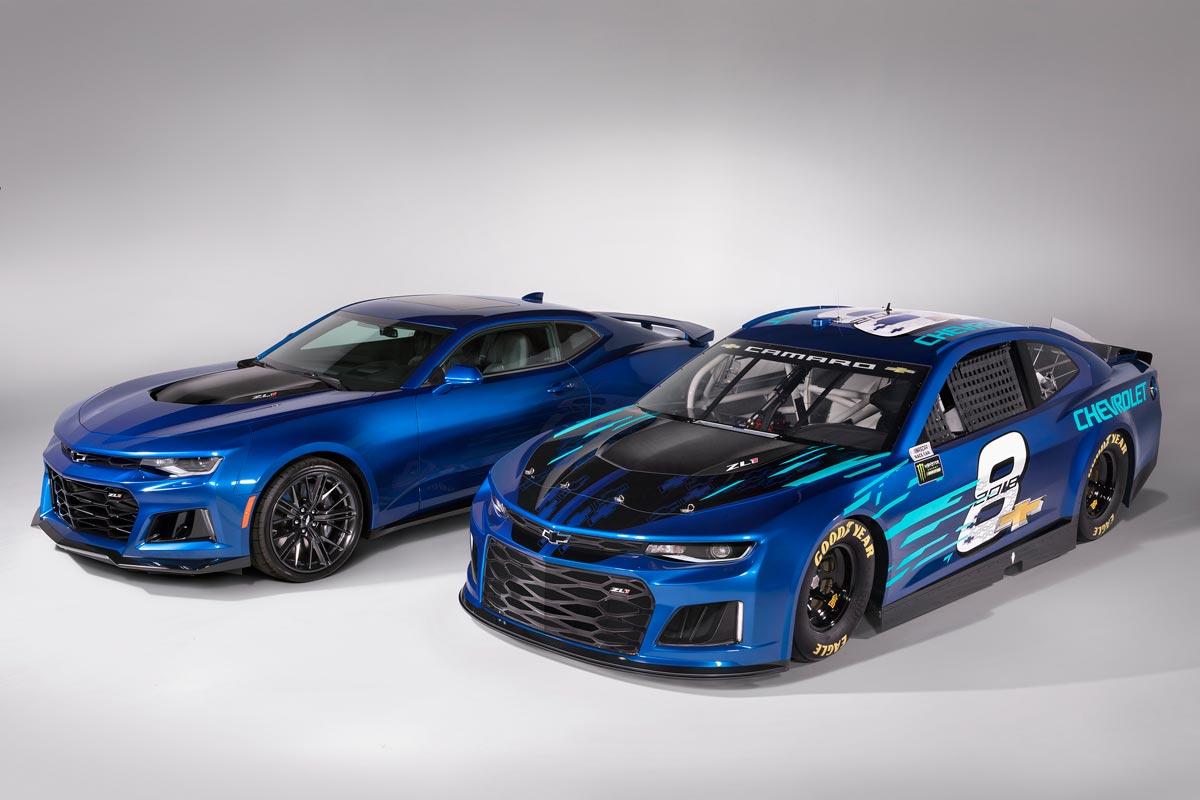 Chevrolet Camaro ZL1 NASCAR Cup delantera