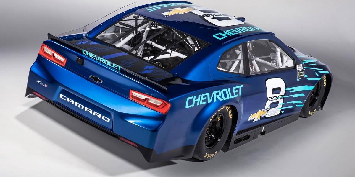 Chevrolet Camaro ZL1 2018 NASCAR: así será la versión para la NASCAR