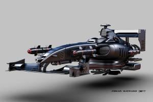 Fórmula 1 de combate aerodeslizador