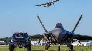 Ford F-150 F-22 Raptor: 545 CV inspirados en un caza de combate (fotos)