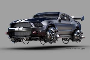 Ford Mustang aerodeslizador