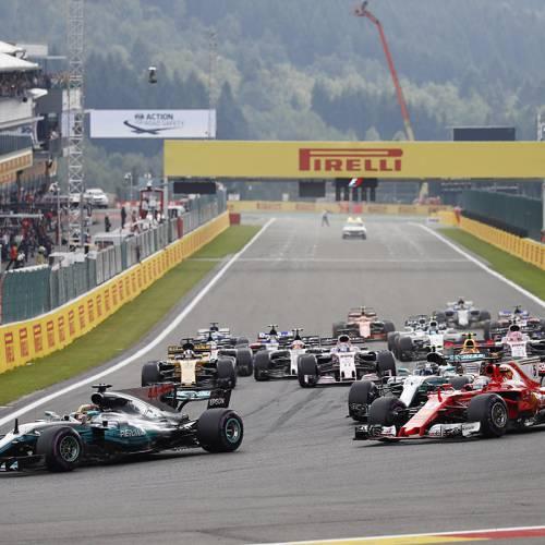Hamilton gana en Spa y se queda a solo 7 puntos de Vettel