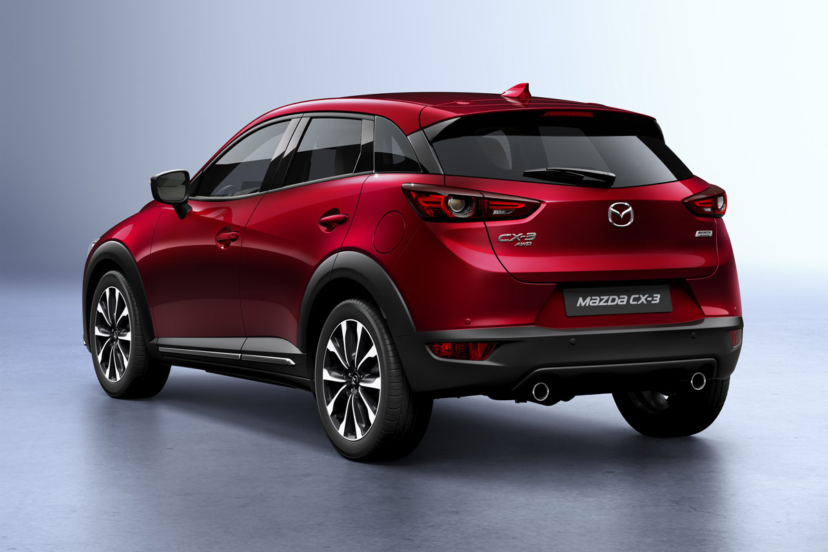 mazda cx 3 2018 el secreto est en el interior. Black Bedroom Furniture Sets. Home Design Ideas