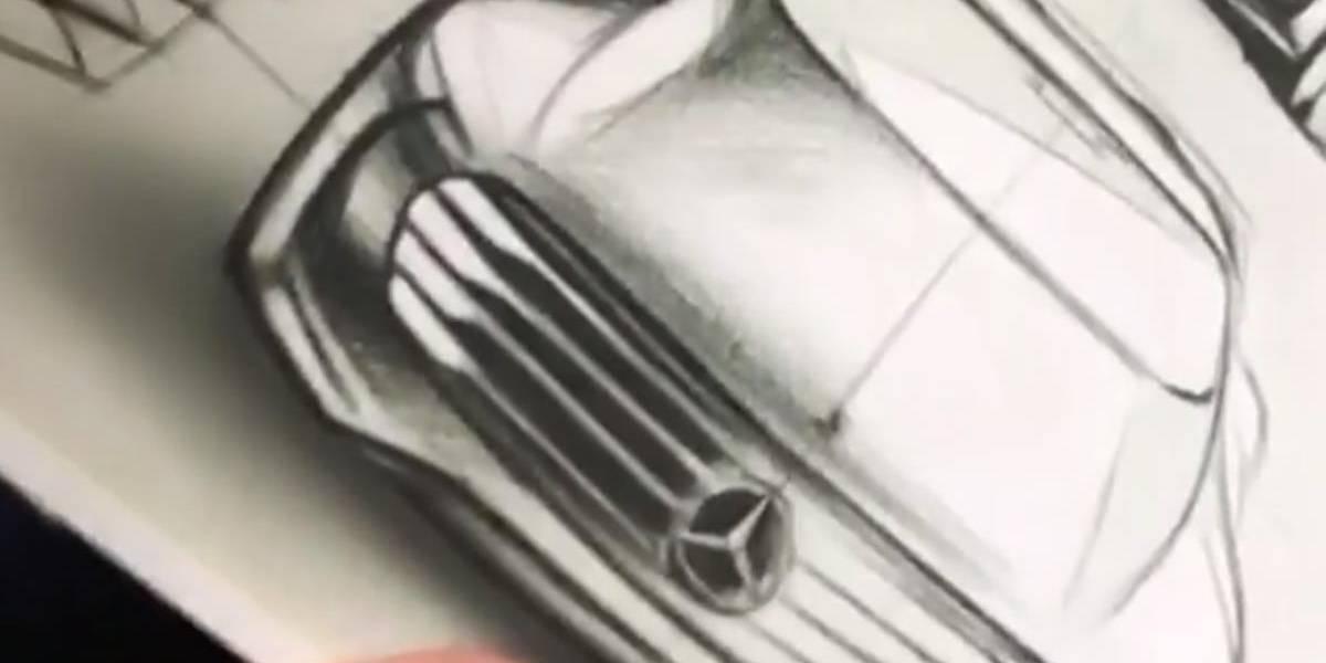Mercedes-Benz muestra el teaser de un nuevo concept para Pebble Beach