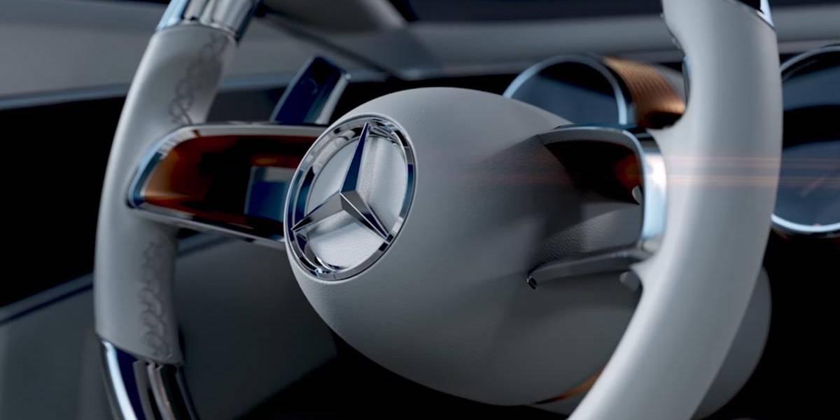 Mercedes-Maybach 6: teaser del concept que se desvelará en Pebble Beach