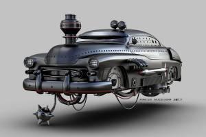 Mercury aerodeslizador