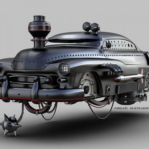 Aerodeslizadores: ¿así serían los coches en un futuro posapocalíptico?