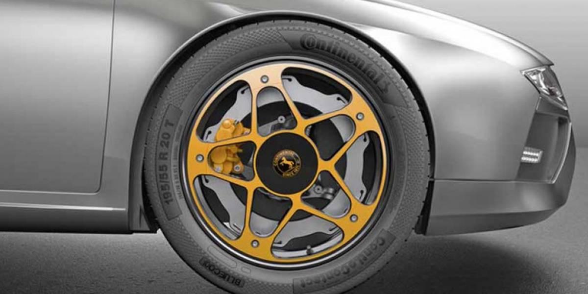 Continental revoluciona el sistema de frenado de los coches eléctricos