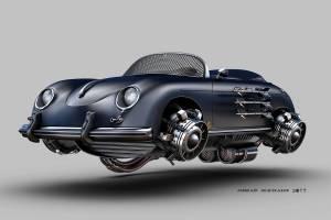 Porsche 356 aerodeslizador