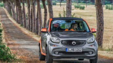 Smart ForFour 2017 frontal