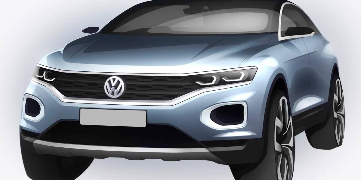 Volkswagen T-Roc: teaser del nuevo SUV alemán