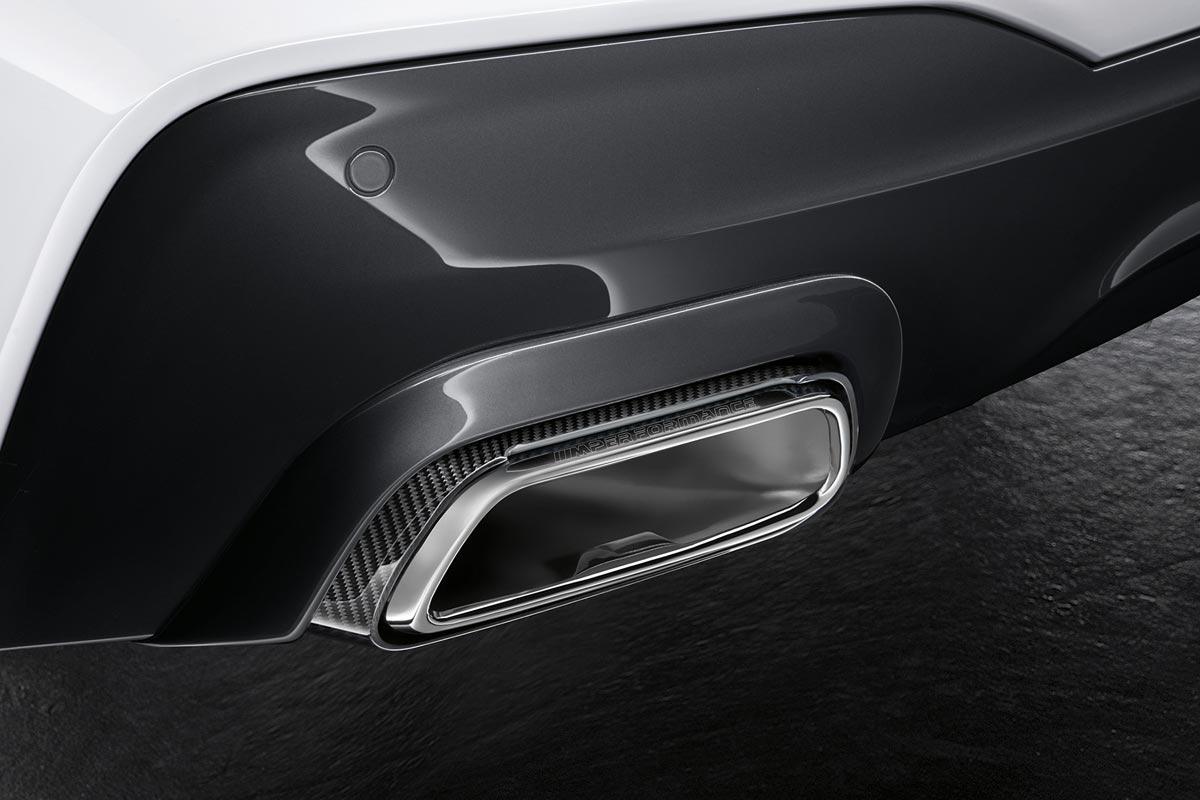 Accesorios BMW M Performance para el nuevo BMW Serie 6 Gran Turismo (fotos)