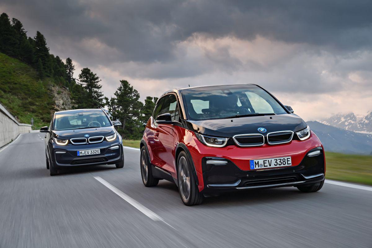 BMW i3 2018: nueva imagen, y con versión deportiva (fotos)