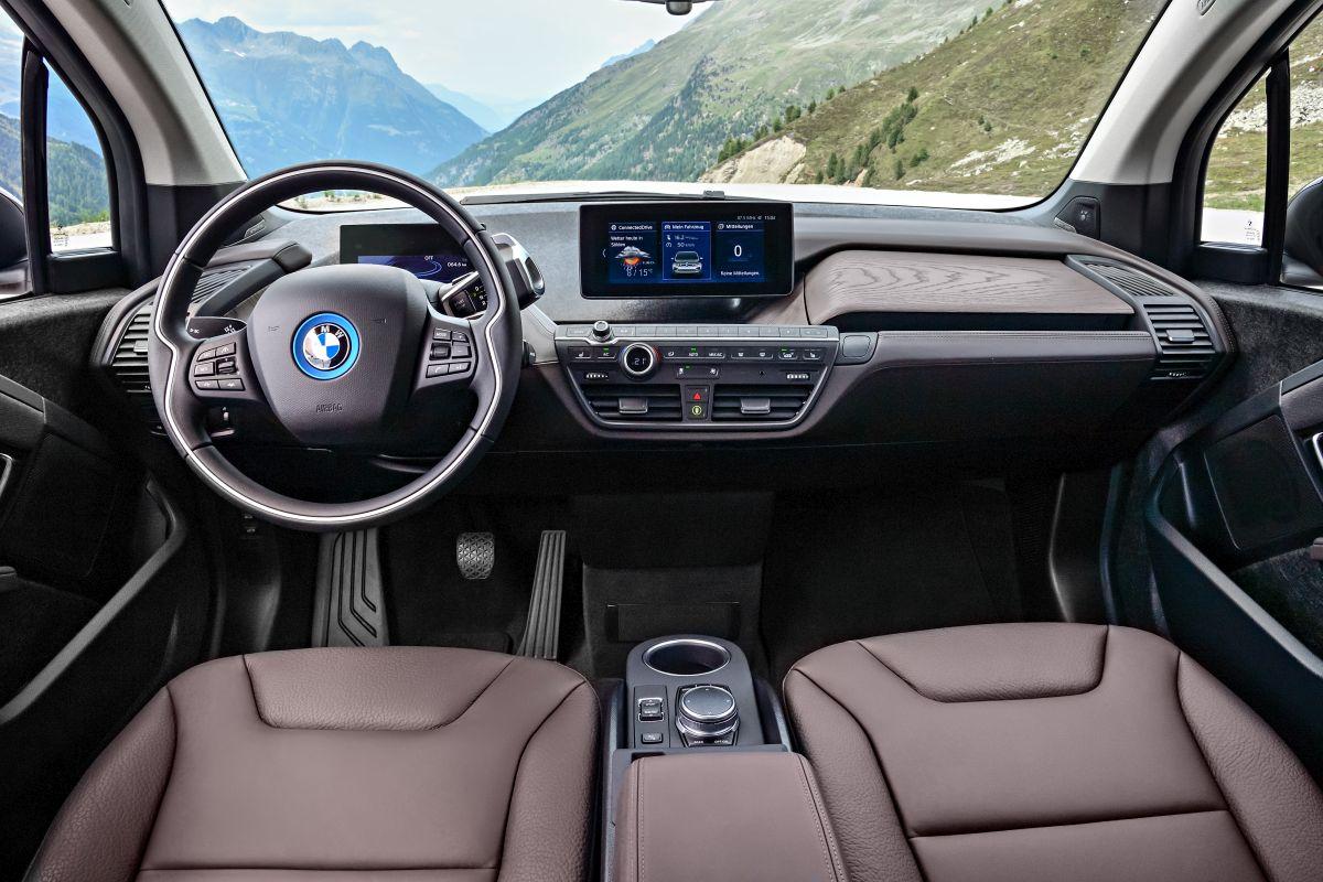BMW i3s 2018 salpicadero