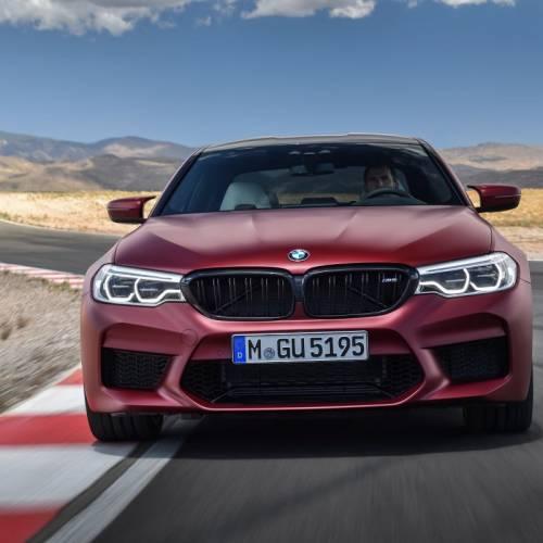BMW M5 2018: 600 CV y llegada de la tracción total