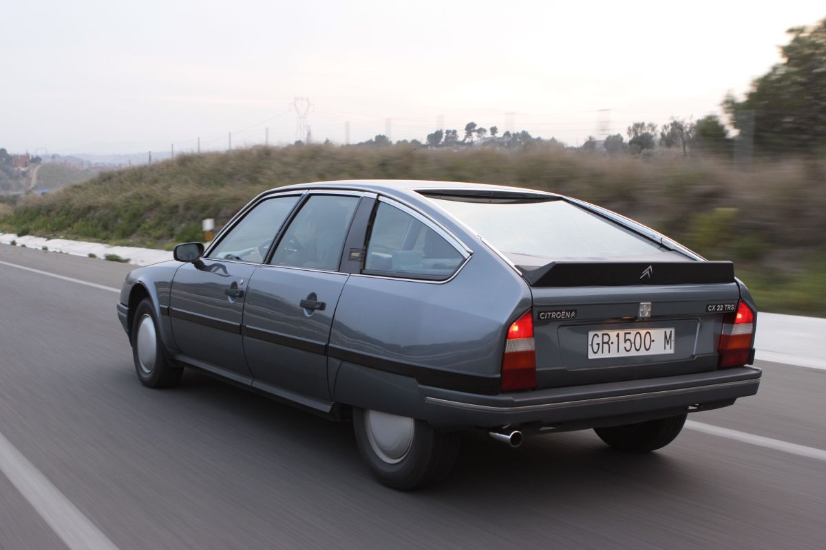 Citroën CX 22 TRS estampa trasera