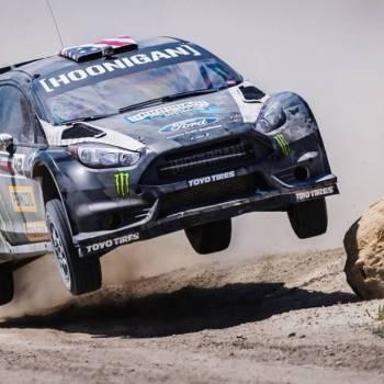 El nuevo vídeo de Ken Block: se ha llevado un Ford Fiesta ST RX43 al desierto de Utah