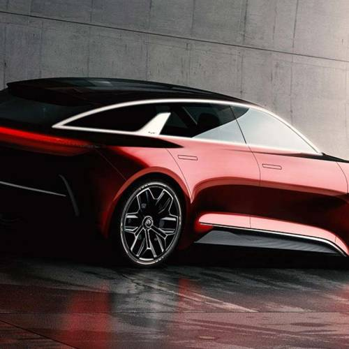 Nuevo Kia prototipo en el Salón de Frankfurt