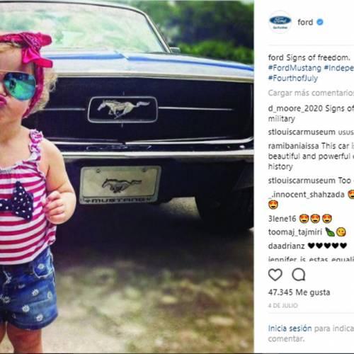 Las marcas de coches más populares en Instagram