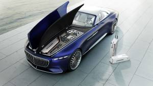 Vision Mercedes-Maybach 6 Cabriolet (fotos)