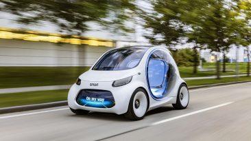 Smart Vision EQ ForTwo Concept: