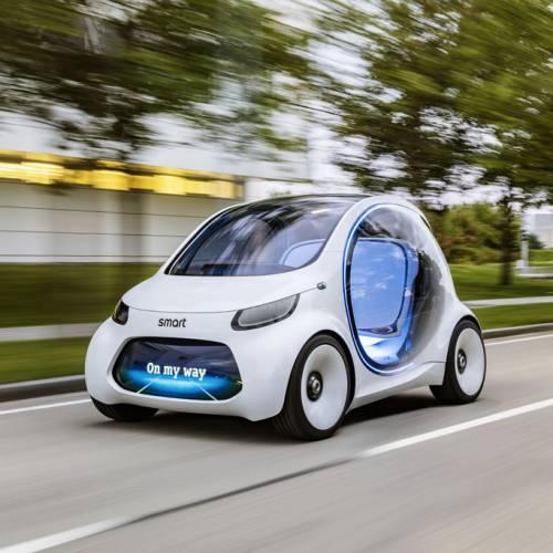 smart Vision EQ ForTwo Concept, el Car2Go del futuro