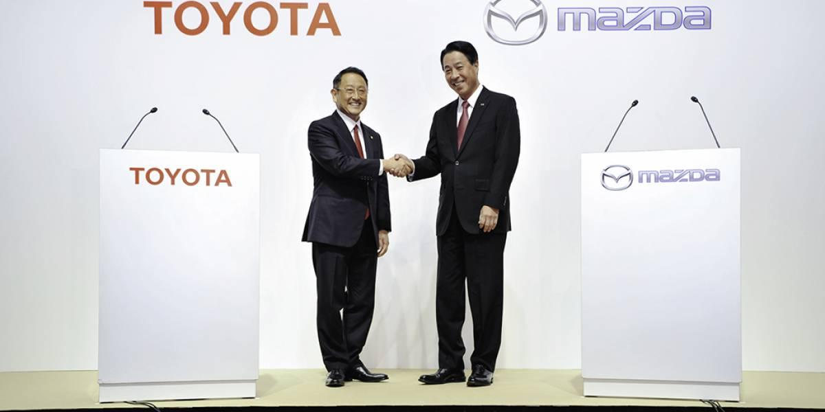 Toyota y Mazda se unen para avanzar en la tecnología eléctrica