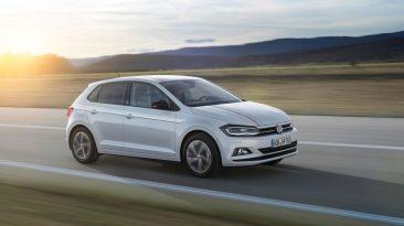 Volkswagen Polo 2017 barrido a la derecha