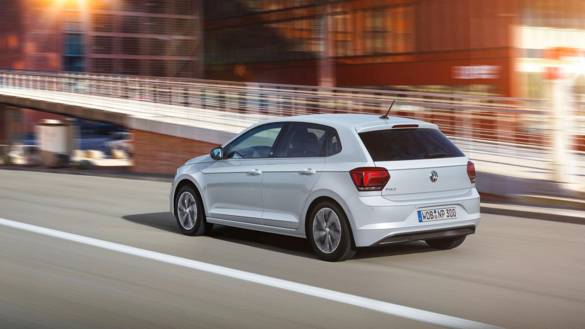 Volkswagen Polo 2017 trasera movimiento