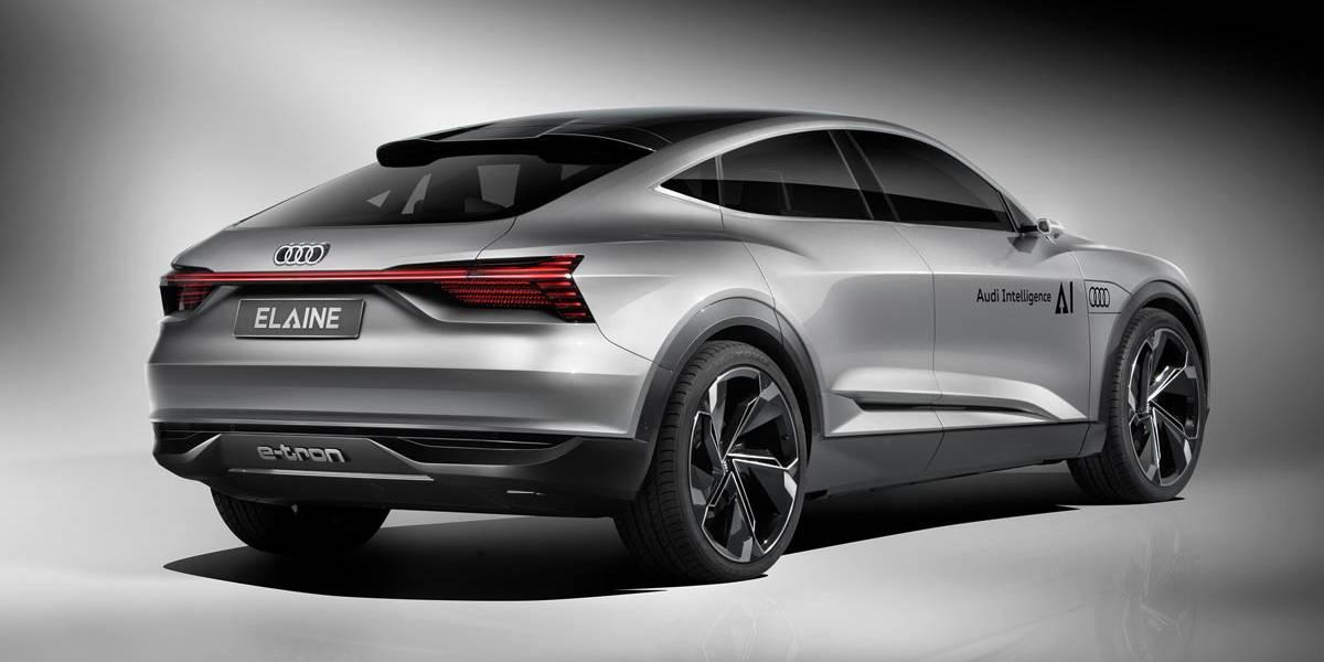 Audi Elaine concept: conducción autónoma nivel 4 y 503 CV de potencia eléctrica