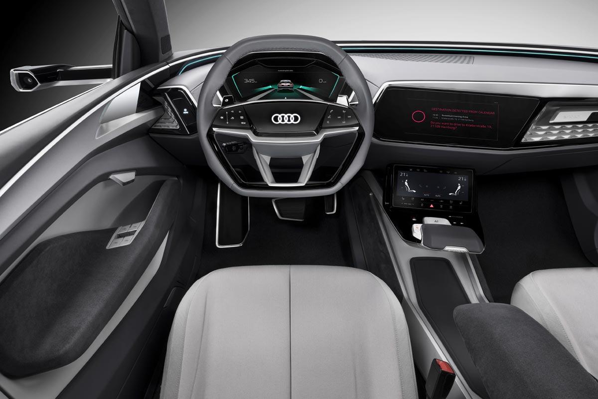 Audi Elaine concept interior