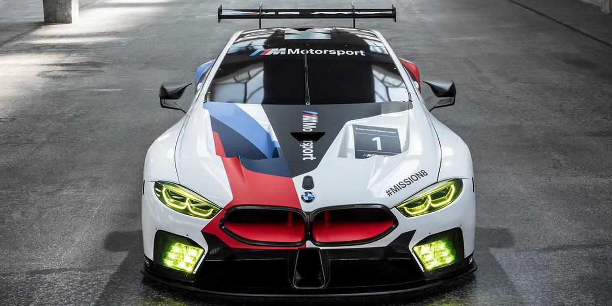 BMW M8 GTE: las 24 horas de Le Mans en el punto de mira