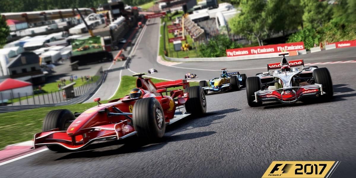 Pon a prueba tus habilidades como piloto con el nuevo F1 2017
