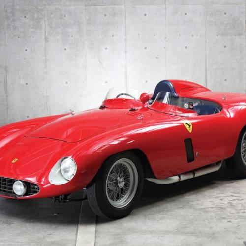 Se subasta un Ferrari 750 Monza by Scaglietti de 1955, y alcanza un precio de locos