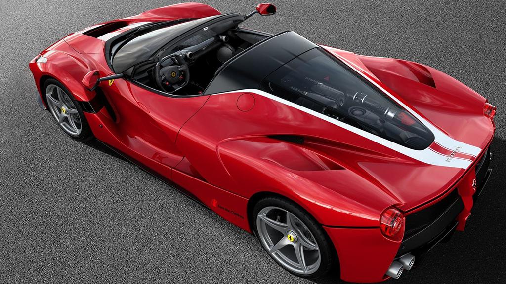 Ferrari LaFerrari Aperta 210 trasera