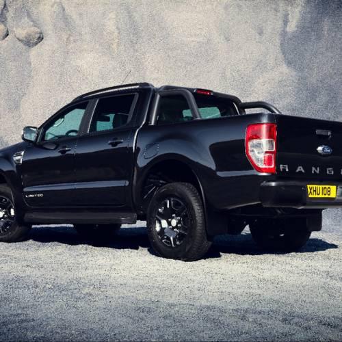 Ford Ranger Black Edition, una edición limitada a 2.500 unidades que apuesta por el negro