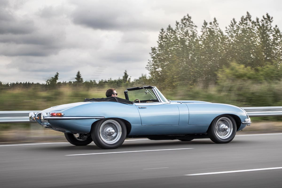 Jaguar E-Type Zero: un icono clásico... !eléctrico!