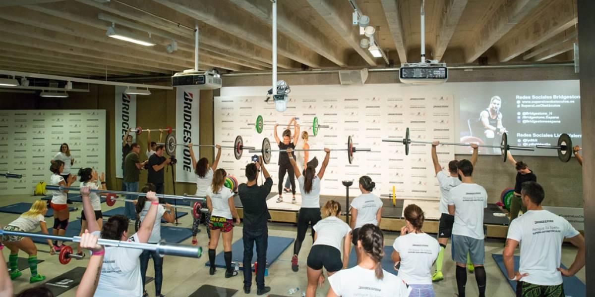 Lidia Valentín y Bridgestone 'levantan' 2.500 euros para la Fundación Juegaterapia