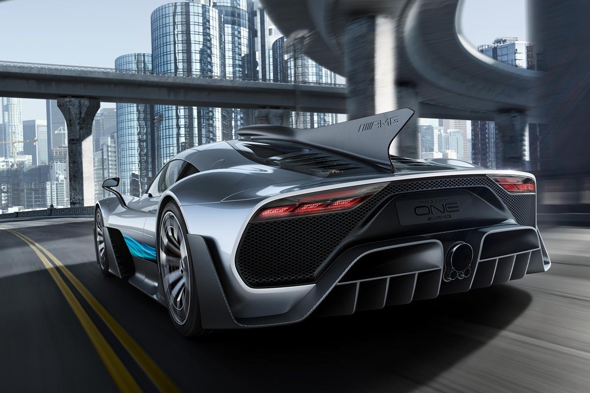 Mercedes-AMG Project ONE: un F1 de calle con más de 1.000 CV (fotos)