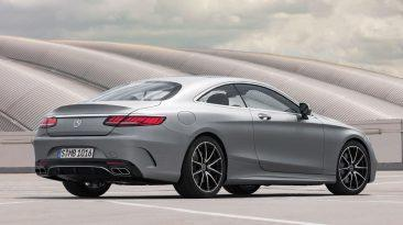 Mercedes-Benz Clase S Coupe trasera