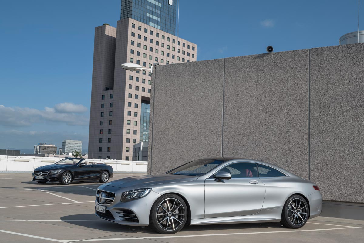 Mercedes-Benz Clase S 2018 Coupé y Cabrio (fotos)