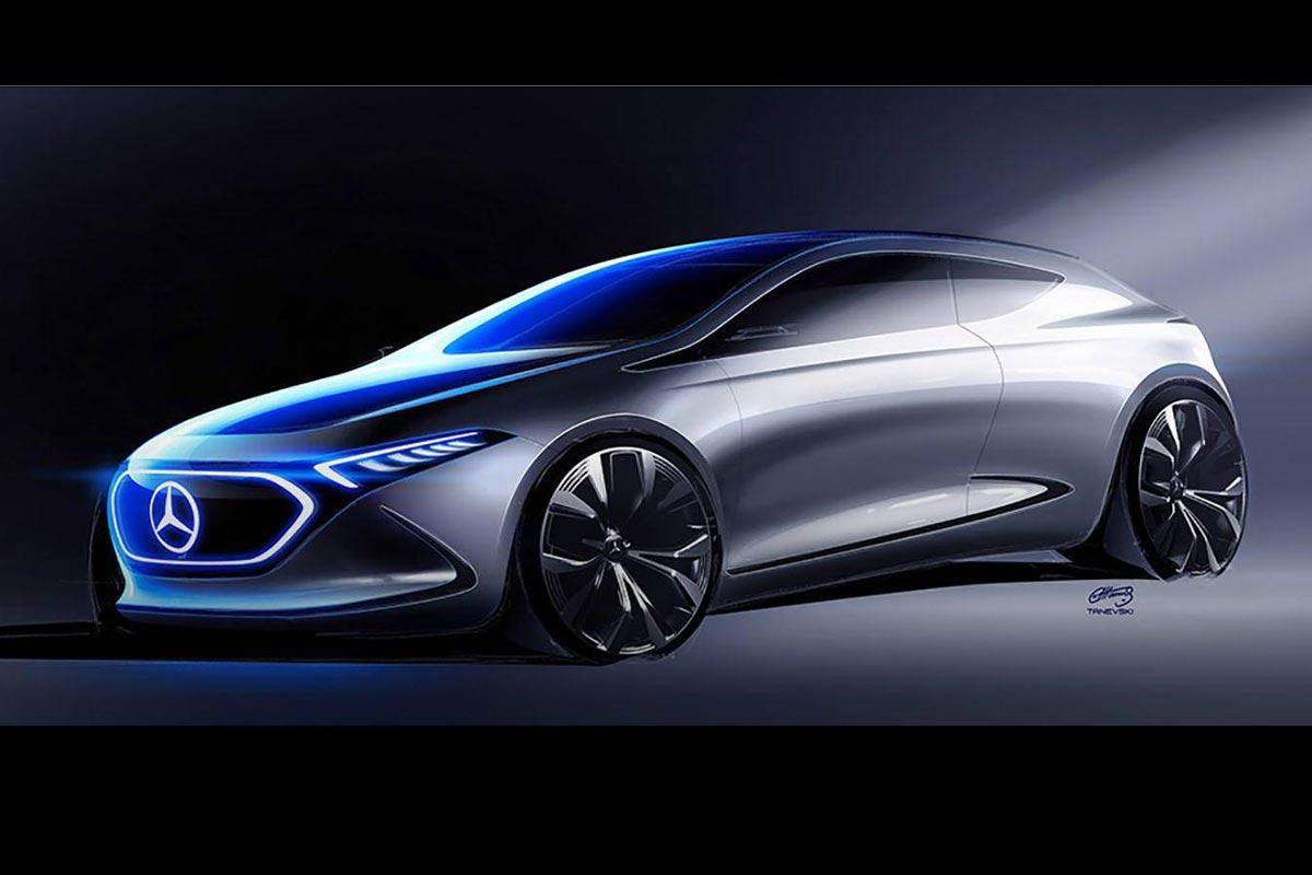 Mercedes benz eq a concept primeras im genes del posible for Mercedes benz concept eq